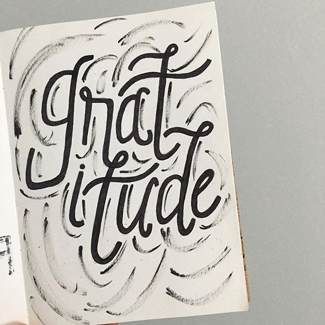 11/100 Gratitude improves self-esteem, improves sleep quality, and increases empathy. Focus on what there is to be thankful for in every situation—even when you're not sure what it is yet.  #100daysofwellnesslettering #the100dayproject . . . . . . #handdrawntype #handdrawnletters #calligritype #slowroastedco #artoftype #designspiration #everydaylettering #thedailytype #thedesigntip #typegang #typespire #typemadness #thefinelab #TYxCA #goodtype  #dslettering #typism #50words #welovetype #typematters #typeeverything #typographysketchbook #handletterer  #customlettering #gratitude #bethankfultoday
