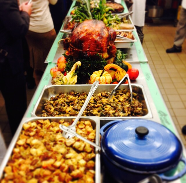 @UnionSquareEvents   The start of an incredible Worksgiving family meal. Happy Thanksgiving!