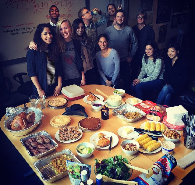 @Knock2x   It's Worksgiving at Knock Twice. #GobbleGobble