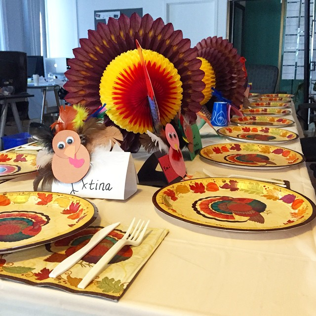 @Cater2mefood   Our SF office is reading for #worksgiving. #teamsgiving #thanksgiving #turkey
