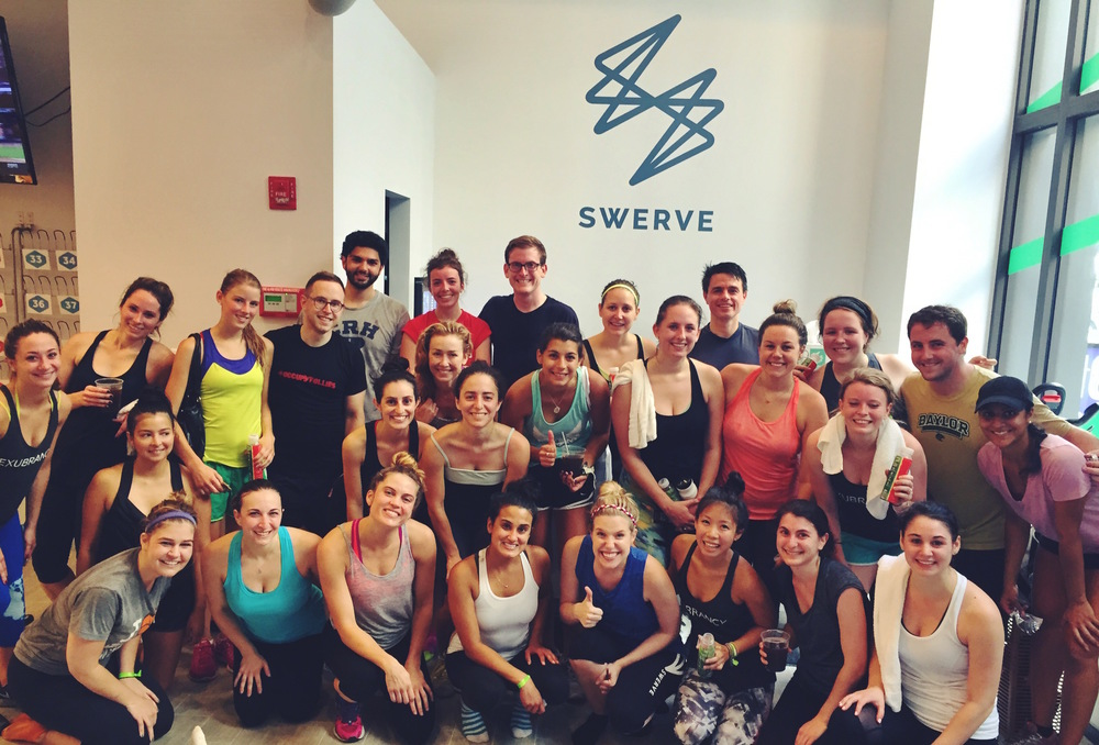 Our superstar fitness buffs post-Krawl!