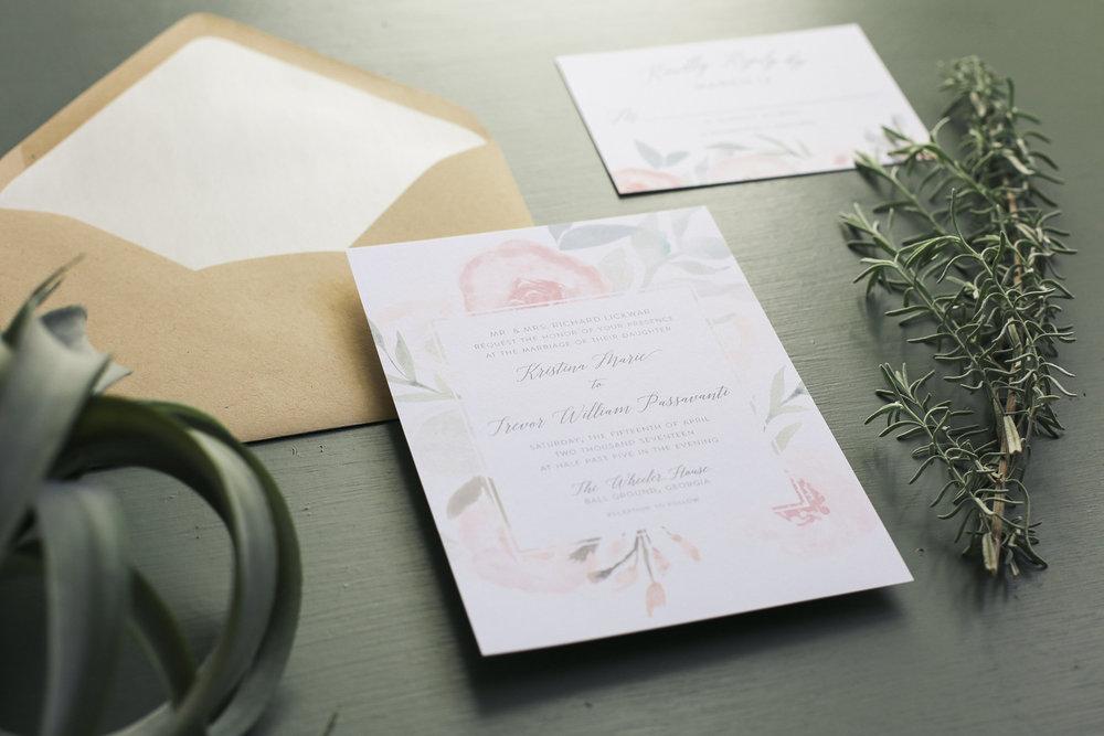 Kristina-Trevor, Spring wedding