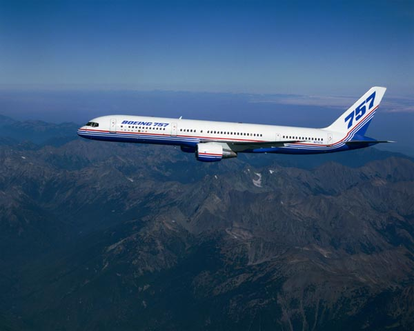 Source:  Boeing.com .  B-757-200 variant.