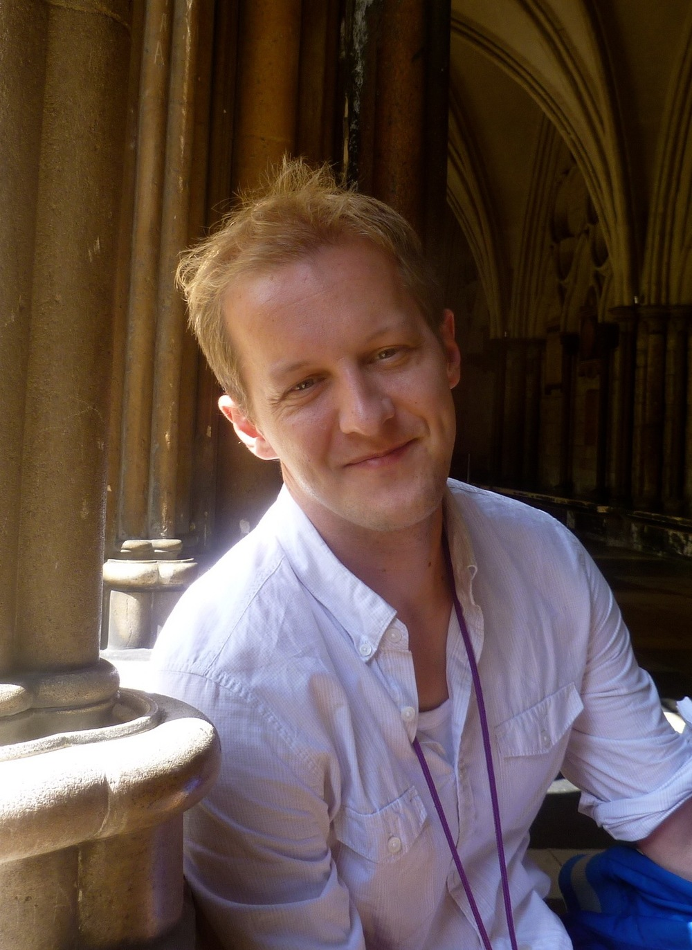 Composer and pianist Aaron Jackson.