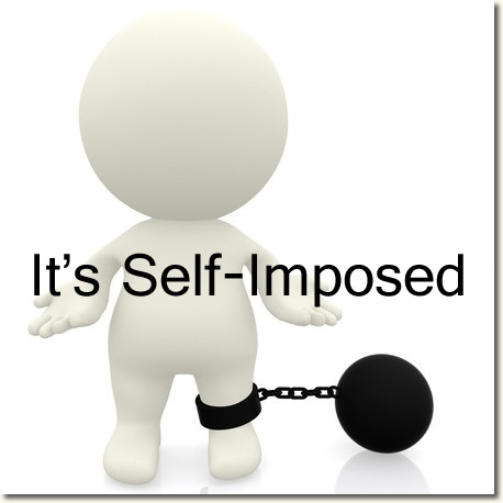 self-imposed