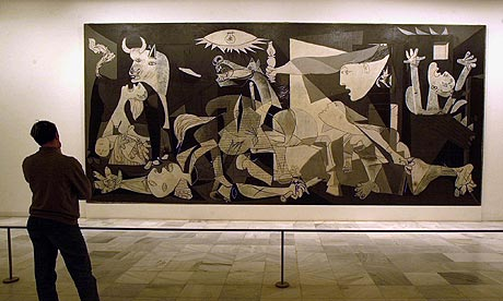 guernica in the reina sofia