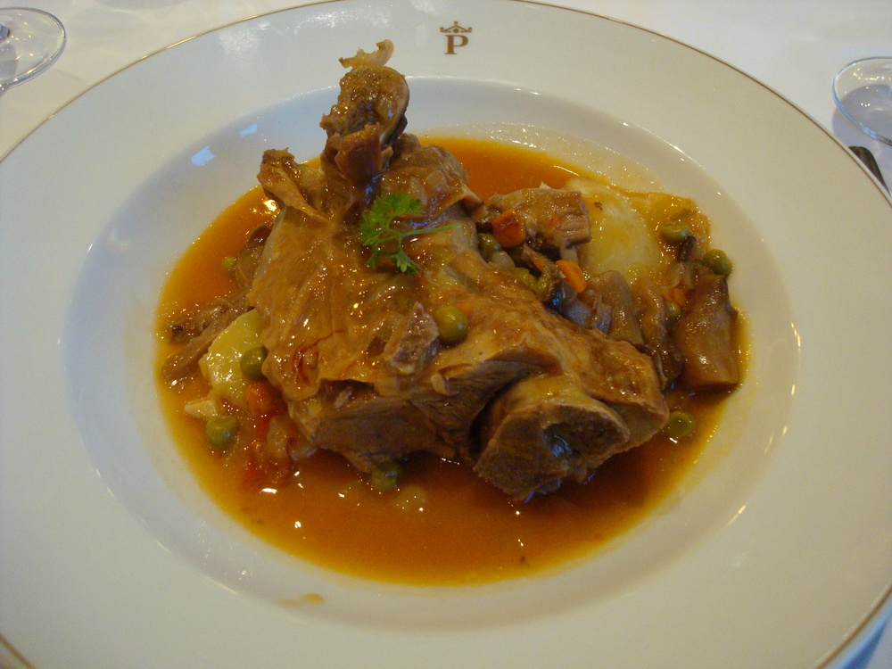 Lamb Stew (Aragon is known for its local lamb and goat)
