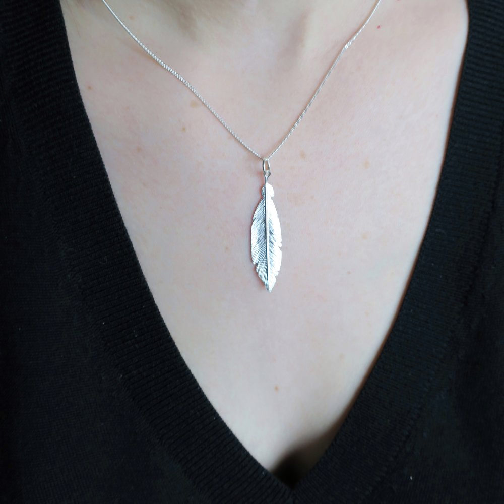 Feather Pendant by Michael Hill
