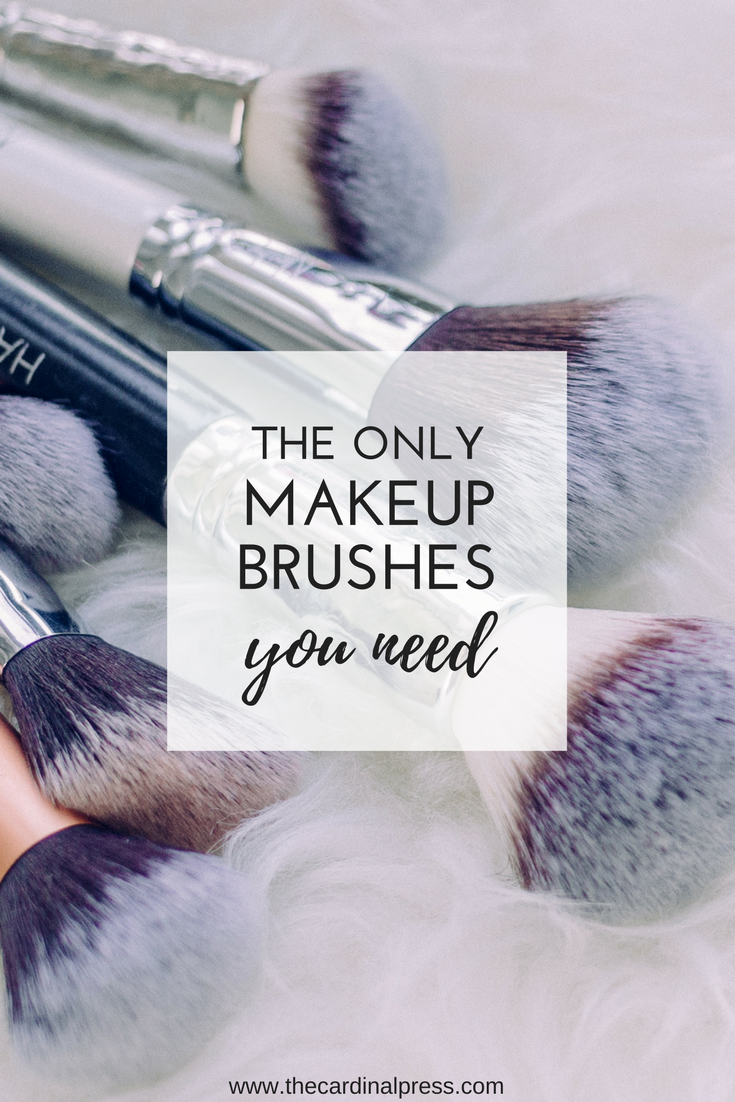 the only makeup brushes you need