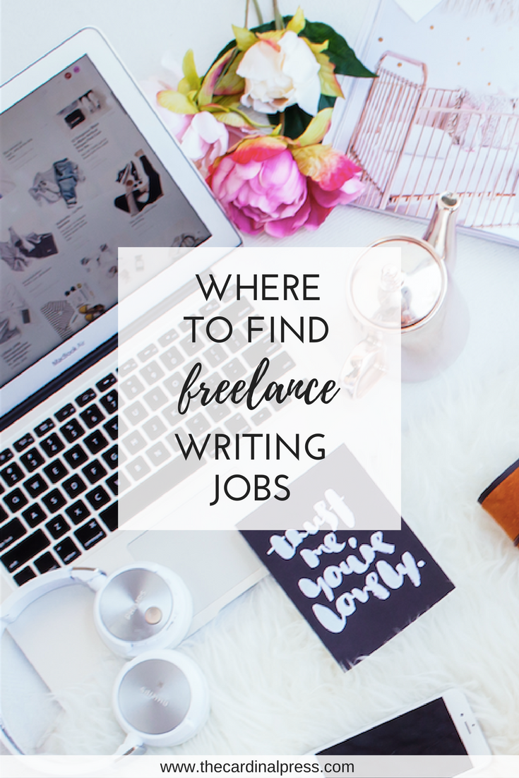 where to find freelance writing jobs online