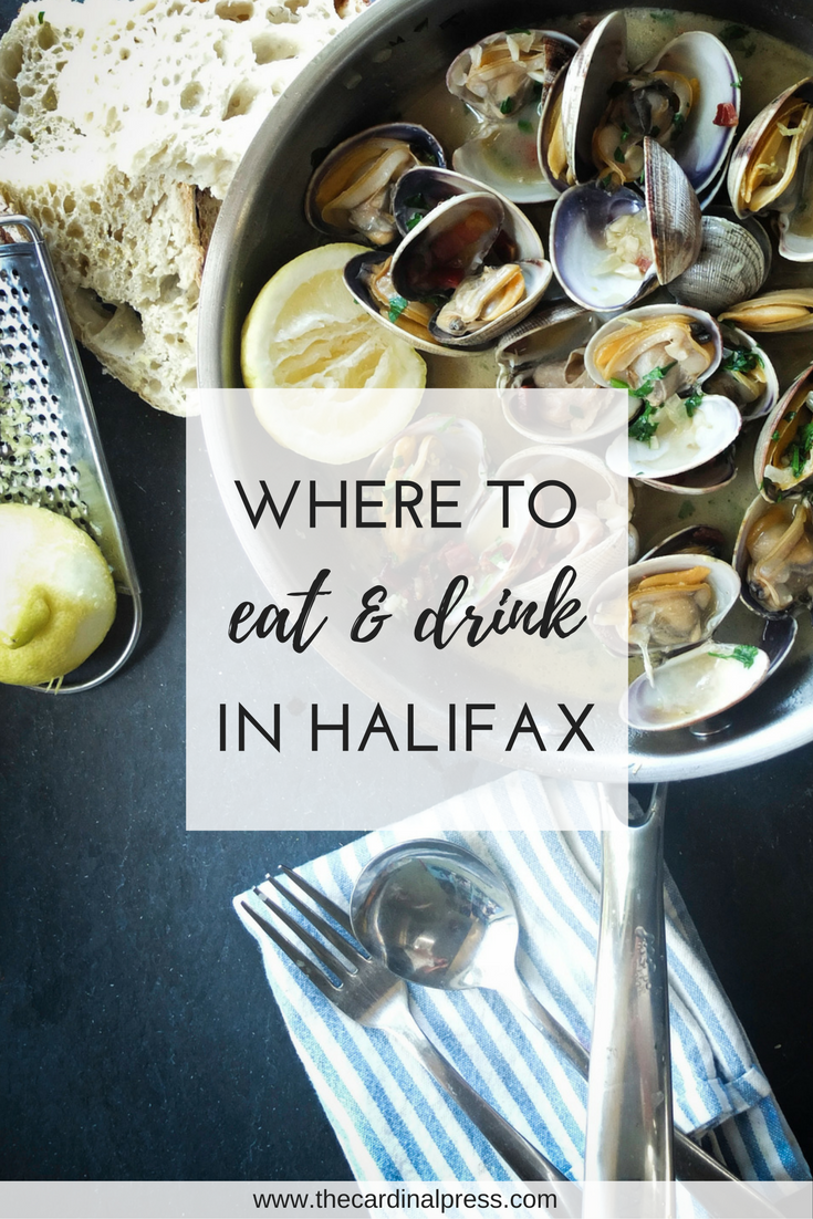 where to eat and drink in halifax