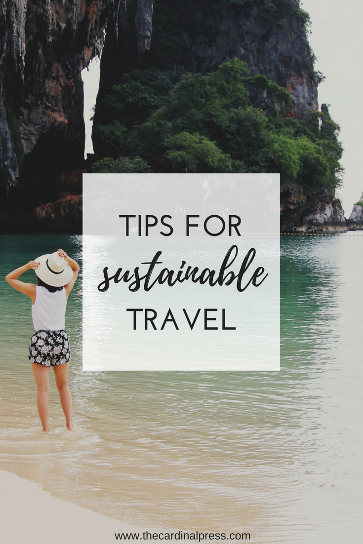 tips for sustainable travel