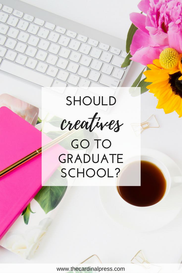 should creatives go to grad school
