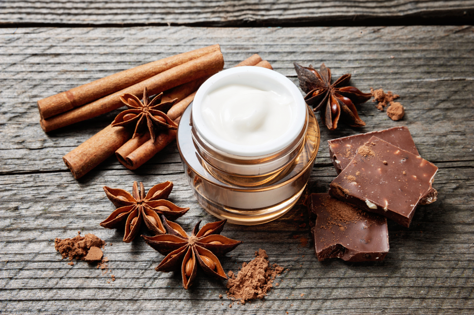 skin benefits of chocolate makeup