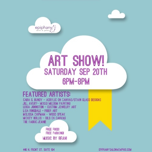 Gallery show on September 20th! Click the flyer to see featured works!
