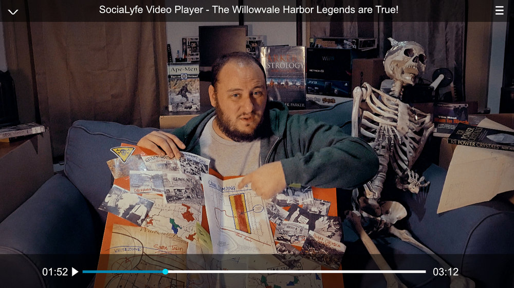 The Legend is True? - Urban Explorer, Video Blogger and Conspiracy Theorist, Mike Gibson explores the rumored location of the lost town of Willowvale Harbor.Mike is given a package containing some new information about the whereabouts of the lost town. Once it is discovered that Willowvale Harbor may actually exist. He decides to investigate first hand.