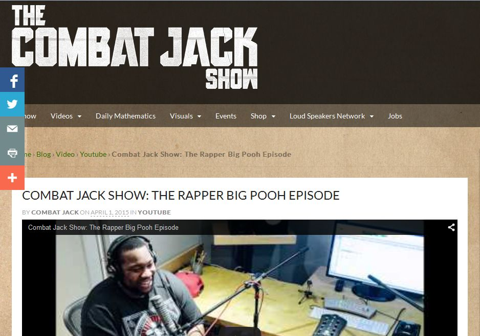 The Combat Jack Show: The Rapper Big Pooh Episode