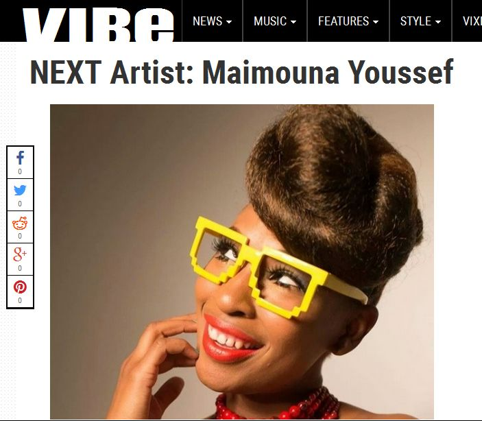 VIBE Vixen NEXT Artist Highlight + Exclusive Interview With Maimouna Youssef