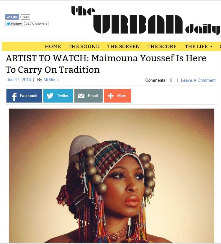 ARTIST TO WATCH: Maimouna Youssef Is Here To Carry On Tradition
