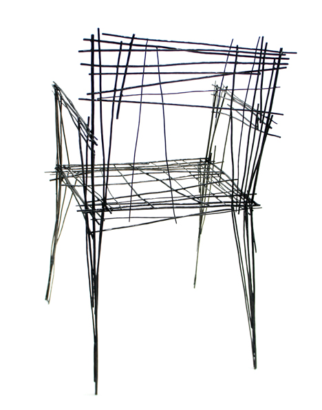 Line Drawing Furniture Series by Jinil Park