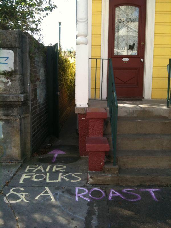 Fair Folks & A Roast is open!