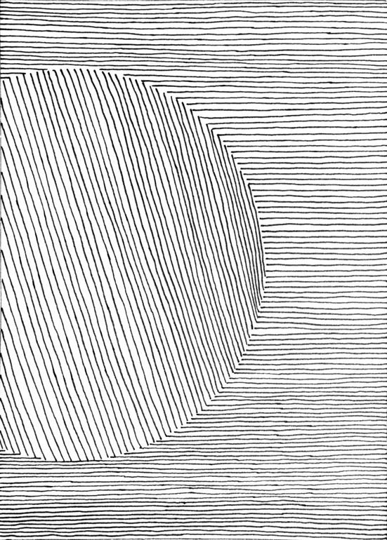 "patternbase: Michael Neil Jacobsen; Pen and Ink, Drawing ""Drawing 004"""
