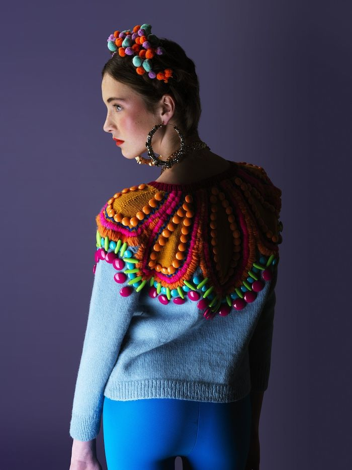 wgsn: Check out the amazing Mexican-themed Crazy Homies collection by talented knitwear duo Cats Brothers.
