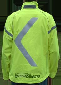 ArroWhere Single Arrow (US-market)High Visibility Reflective Jacket (day)