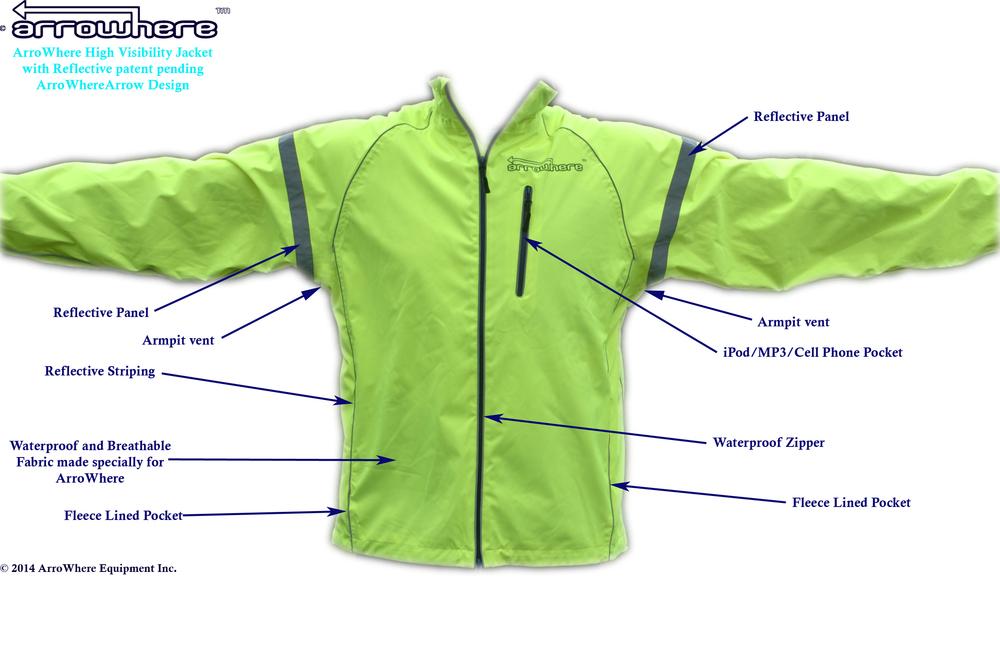 ArroWhere Equipment Inc. Jacket Description (front)