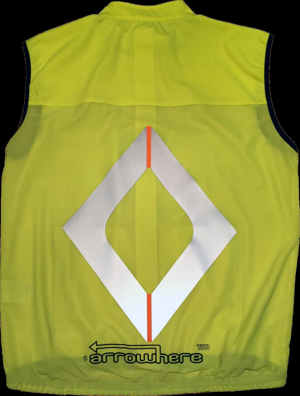 ArroWhere Diamondback Windproof Vest (Orange)