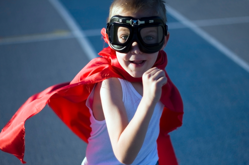 Once you dreamed of being a superhero... now you are well on your way to becoming one.