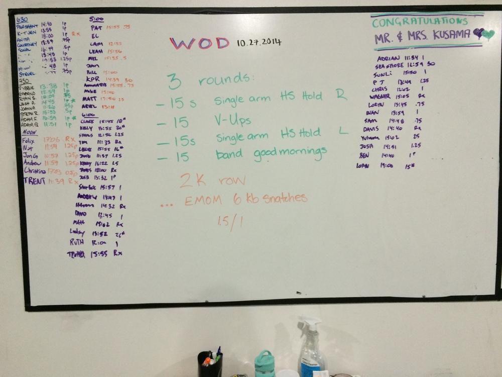 WOD 10/27/2014