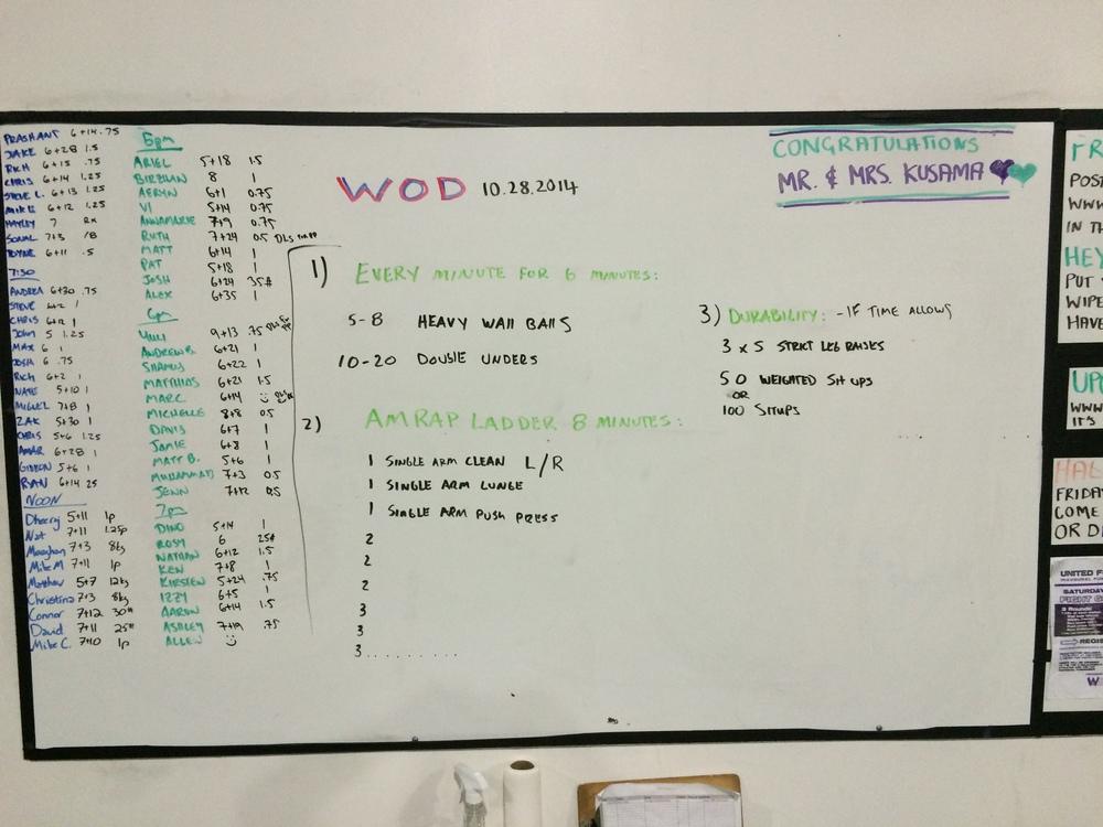 WOD 10/29/2014