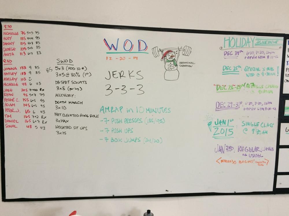 WOD 12/20/2014