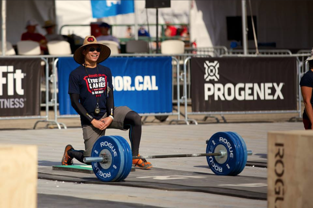 Jason is both a seasoned athlete as well as A crossfit games judge