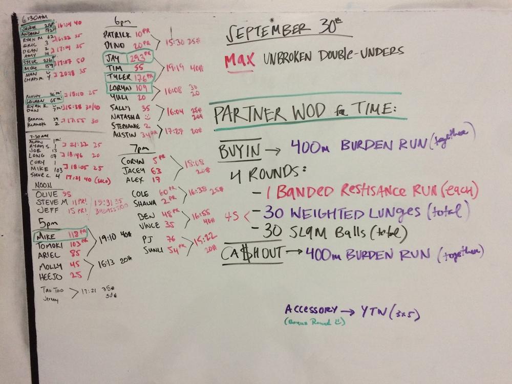 9-30-2015 wod