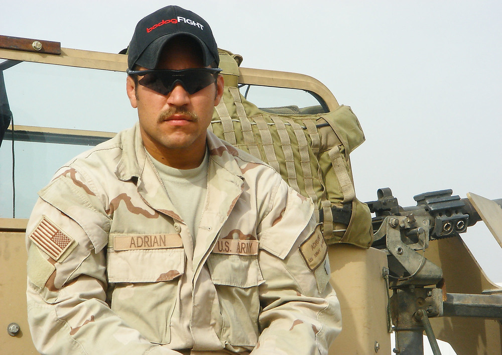 U.S. Army Sergeant First Class Adrian Elizalde, 30, of North Bend, Oregon, assigned to the 2nd Battalion, 1st Special Forces Group (Airborne), based in Fort Lewis, Washington, died on August 23, 2007, in Baghdad, Iraq, of wounds sustained from an improvised explosive device. He is survived by his parents, Jorge and Teresa Elizalde, sister Rachel, and daughter Sydney Grace.