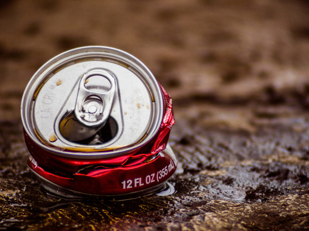 Dr. Pepper misses a lift - try a full can next time!