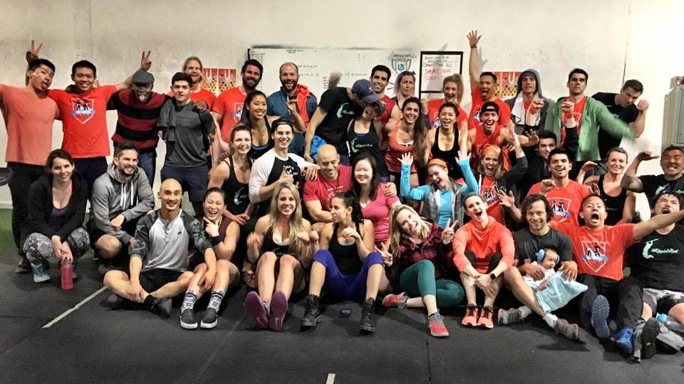 Participants from the United Barbell's first annual House Cup
