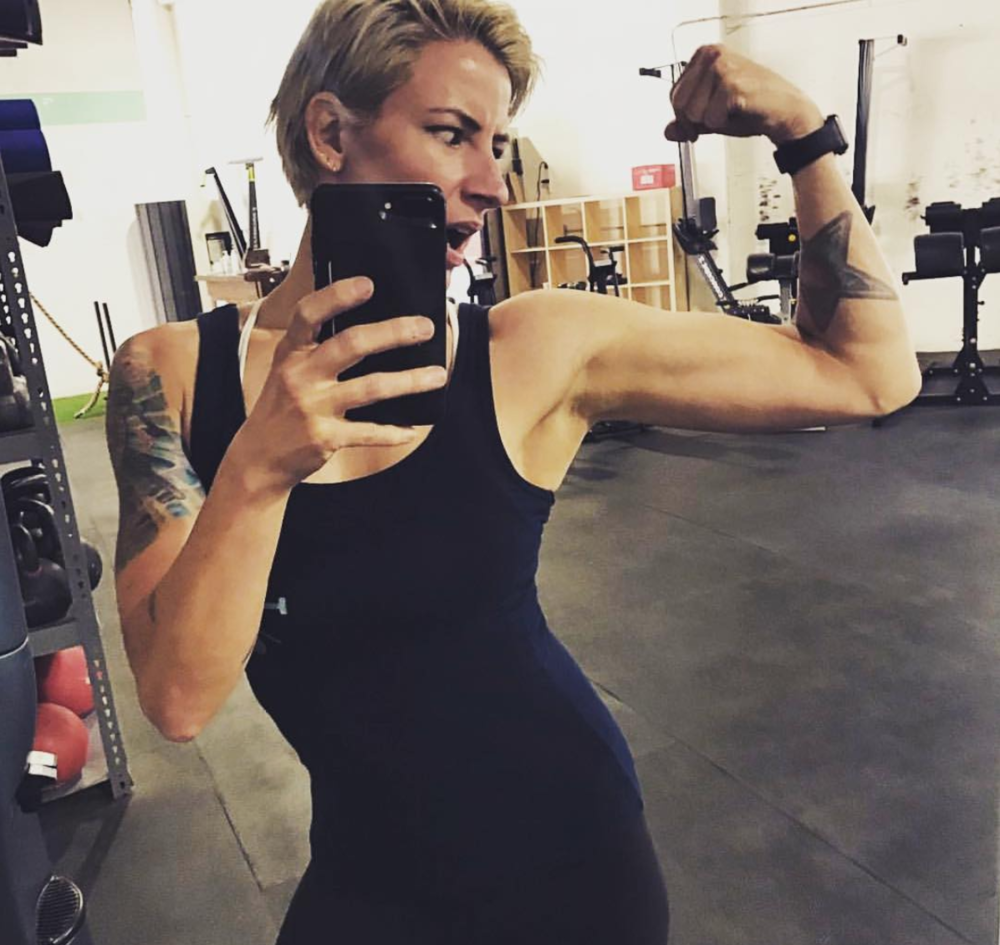 COACH OLIVIA ON #FLEXFRIDAY