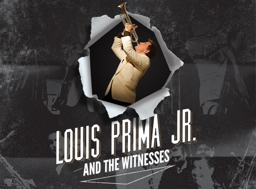 Louis Prima Jr. - son of iconic musician Louis Prima, is bringing big band swing on a rock and roll journey. Louis and his band The Witnesses are reinventing a style of music and making it relevant to the 21st Century.