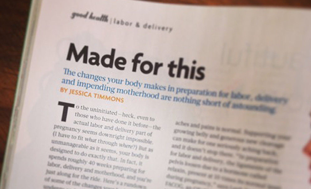 Pregnancy + Newborn Magazine // Editorial + Blogging