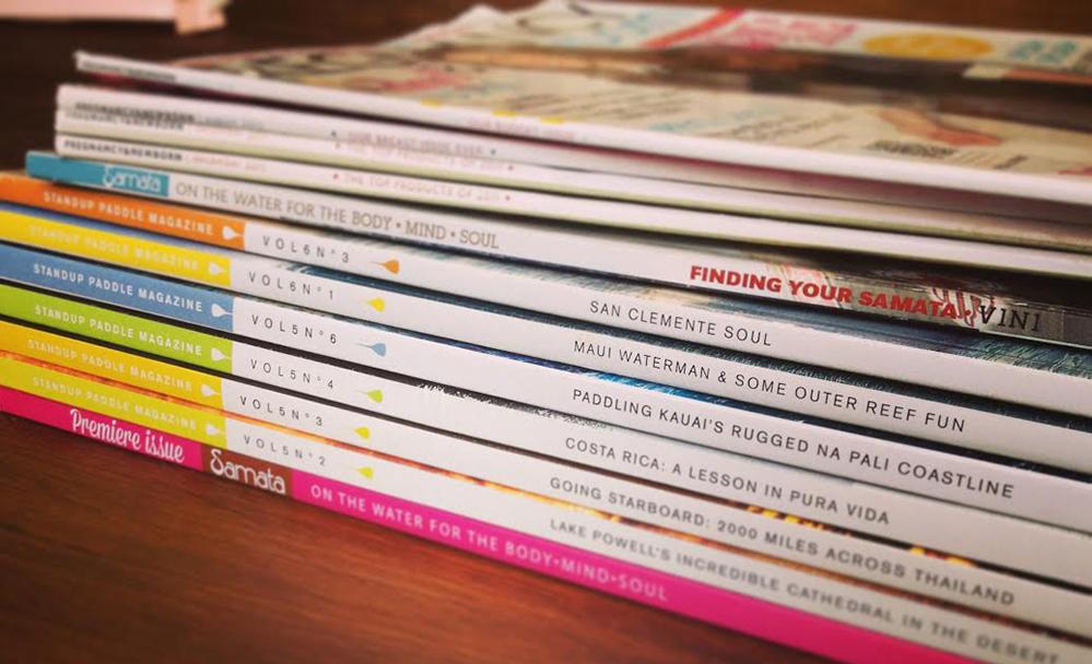 Samata & Standup Paddle Magazine // Copy Editing