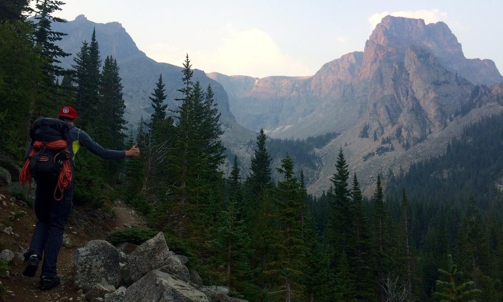 This body hiked Granite Peak. Photo Credit: Vasu Sojitra
