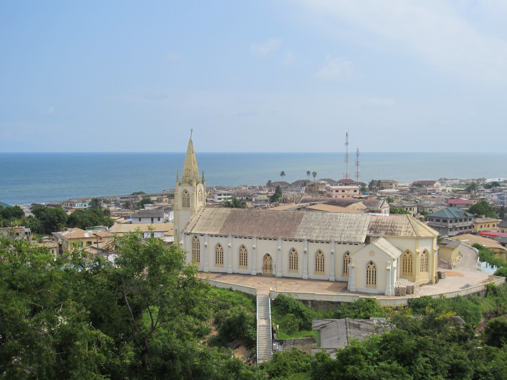 A vista from Cape Coast, Ghana
