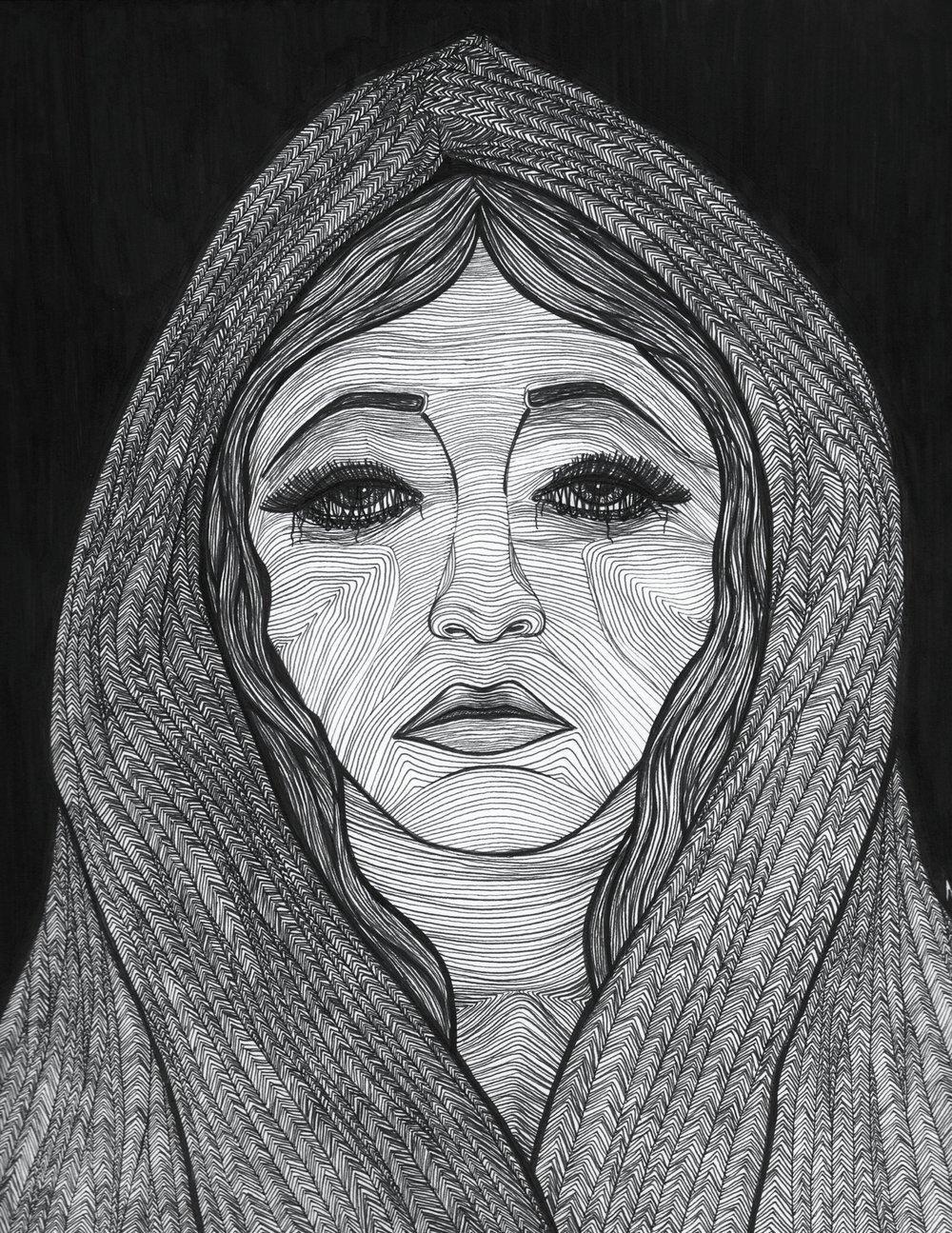 Envy, Pen on Paper, 2013