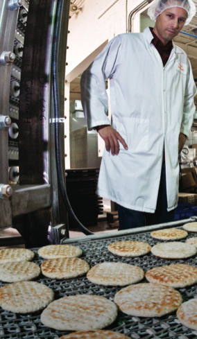 Innovation is ongoing at Ozery's Pita Break, says Alon Ozery. In addition to sourcing ingredients locally as much as possible, the company's equipment has been custom-built in Ontario.   PHOTO: SUPPLIED