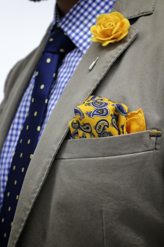 Wearing A Lapel Bud Elevated Citizen