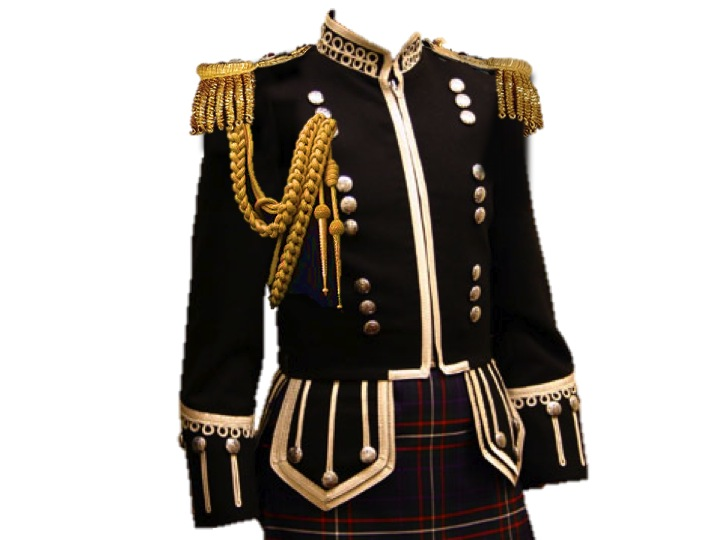 Scottish Uniform Aiguillette Epaulette