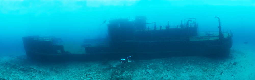 Captan Dan Shipwreck